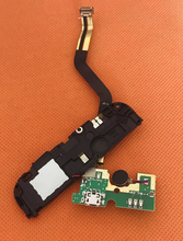 Used Original USB Plug Charge Board +Loud speak For UMI Rome MTK6753 5.5 inch 1280x720 HD Octa Core Free shipping