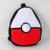 Nuevo Pokemon Ir de Poke Bola Suave Felpa Rellena Schoolbag Niños Mochilas Bolsa 15 ''Rojo y blanco Gran Halloween Navidad regalos