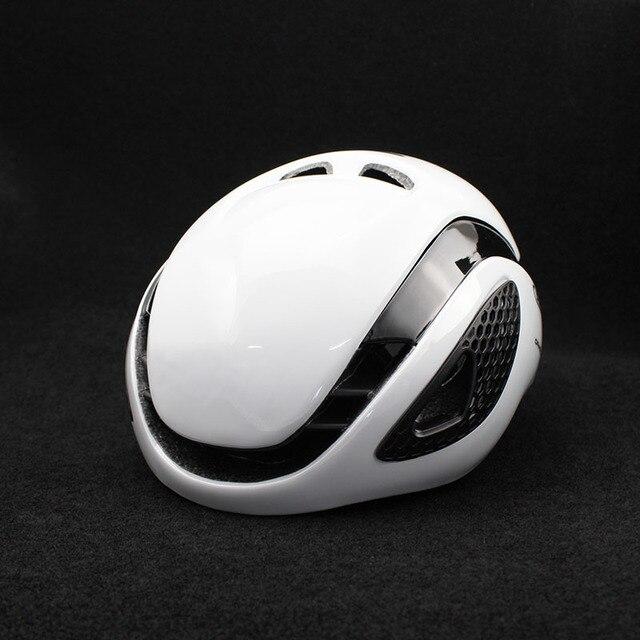 300g aero tt capacete de bicicleta de estrada ciclismo de bicicleta esportes capacete de segurança equitação dos homens de corrida em-molde tempo-julgamento capacete 2