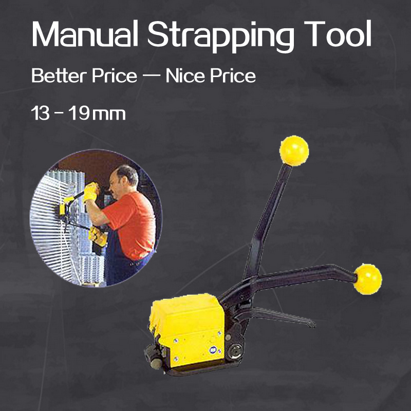 цена на Buckle less steel strapping machine A333 manual steel strapping tool, hand held metal strapping machine, packaging tools packer