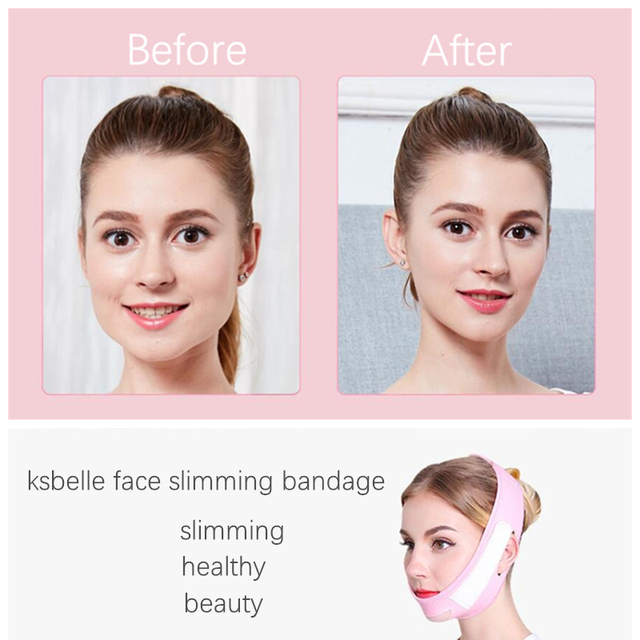 Face Slim V-Line Lift Up Cheek Chin Neck Slimming Thin Belt Strap Beauty Delicate Physical Facial Lifting Tool Slimming Bandage 4