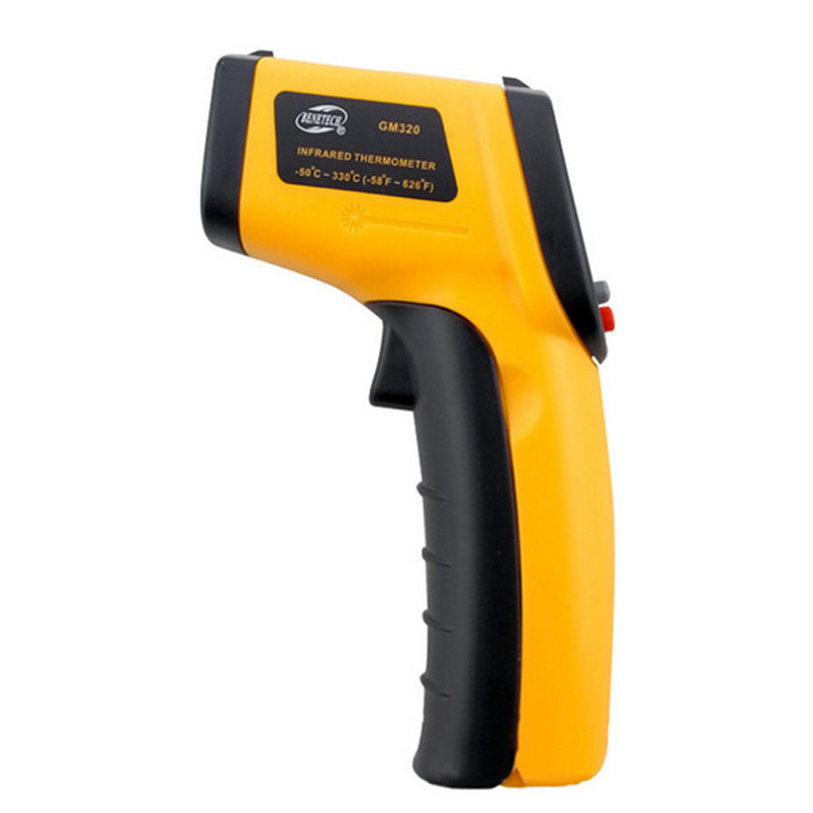 GM320Thermometer thermal imager digital thermometer handheld Thermometer Temperature Tester 50 to 380 C Auto Temperature Meter