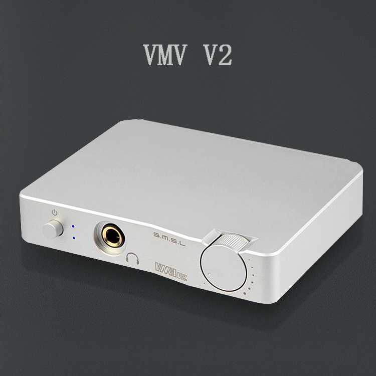 SMSL VMV V2 Hifi Audio USB DAC 32Bit/384KHz Decoder CM6631A ES9023 Audio USB DAC with Headphone Amplifier USB Input RCA Output fx audio dac x6 hifi 2 0 digital audio decoder dac input usb coaxial optical output rca amplifier 16bit 192khz dc12v