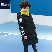 New Hot Girls Boys Sale Winter Coat Long Sleeve Unisex Winter Jacket WindProof Children Kids Winter Jacket 4-12 Years 3 Colour