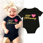 Mini Mommy Newborn Baby girls letter Bodysuits onesie Infant Babies Girl Cute Bodysuit one-pieces Outfits Kids Clothing