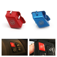 Car Personalized Red/Blue Sports Steering Wheel Switch Button For BMW 3 Series E90 E92 E93 M3 2007 2008 2009 2010 2011 2012 2013 недорого