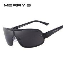 Merry's Для мужчин Классический бренд Солнцезащитные очки HD поляризованные Очки Для мужчин интегрированной очки Солнцезащитные очки s'8616