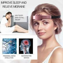 Electric Insomnia Therapeutic Device Hypnotic Apparatus Hypnotic Artifact Aid Sleeping Tool Assisted Sleep Health Care Sleep