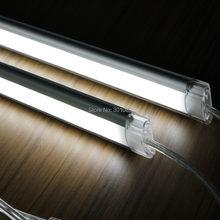 Bande LED rigide 2835, 1m avec 72 pièces 2835 smd, 14.4 W/M, 12V, couverture transparente et couverture laiteuse diffuse
