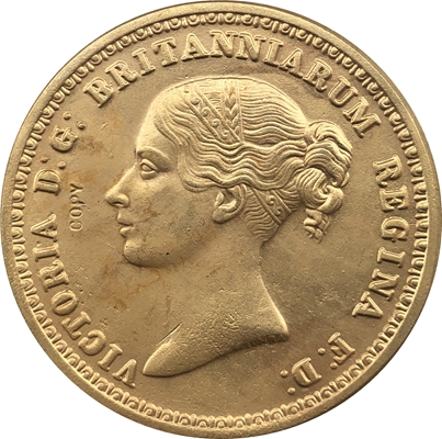 topdansatış Britaniya Vitoria 24-K qızıl örtüklü sikkələr 100% kopir istehsalını kopyalayır