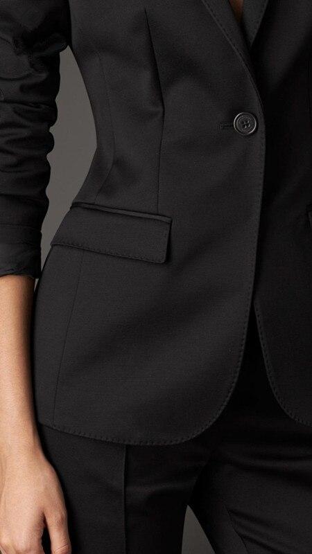 élégant Womensuit blazers tendance costume pantalon Avec Picture Mode as As bussiness 2017new bureau Noir travail Picture Pantalon costumes Charme femmes formelle ensemble De aAxwWXz5q