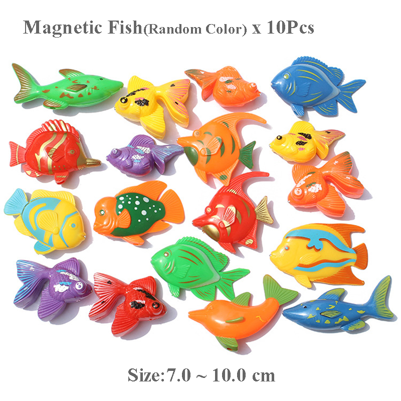 Magnetic Fishes Children Educational Toys Montessori Motor Skill Training Toy Learning Game Kids Fishing Toy With Fishing Rod