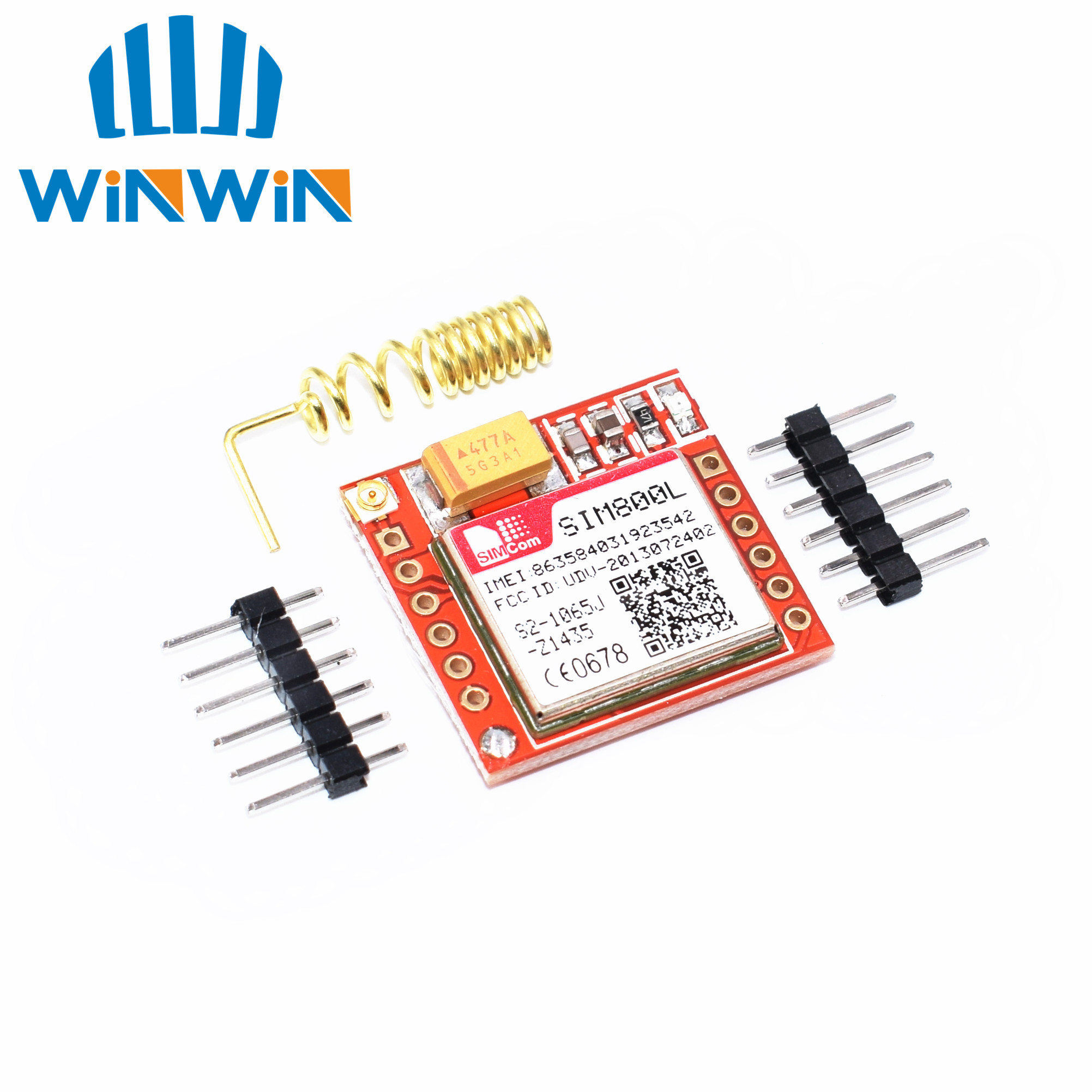 C52 1pcs Smallest SIM800L GPRS GSM Module MicroSIM Card Core BOard Quad-band TTL Serial Port