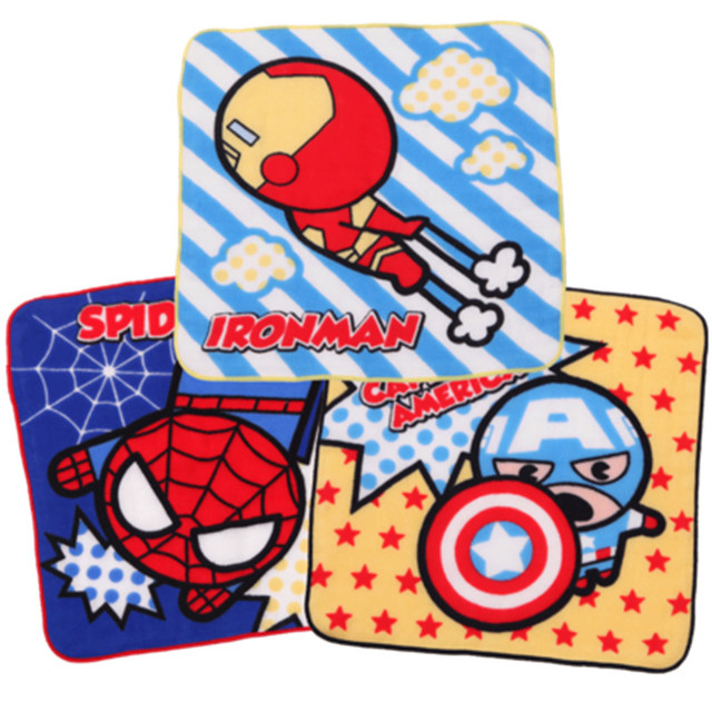 Marvel Iron Man sciarpa Quadrata di 100% Garza di Cotone Tovagliolo di fronte De