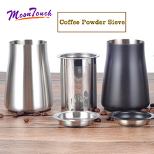 1pc Coffee Powder Sieve Multifunctional Stainless Steel Flour Sieve Filter Cup Dustproof Coffee Grinder Accessory for Barista 1pc coffee powder sieve multifunctional stainless steel flour sieve filter cup dustproof coffee grinder accessory for barista