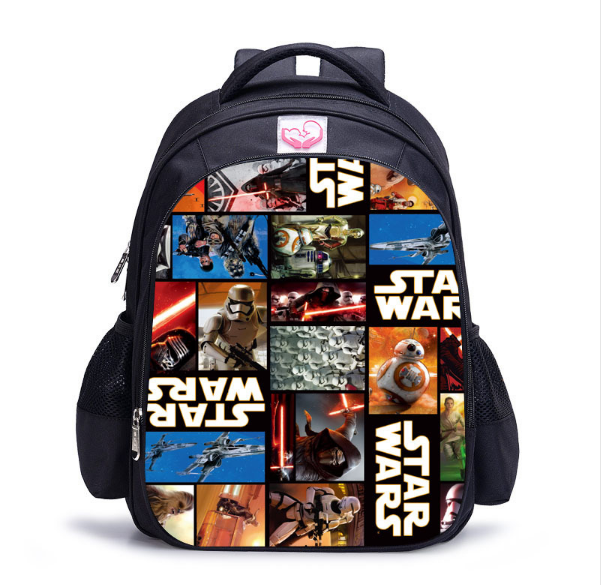 16 Inch Star Wars Darth Vader Storm Trooper Children School Bags Orthopedic Backpack Kids School Boys Girls Mochila Catoon Bags