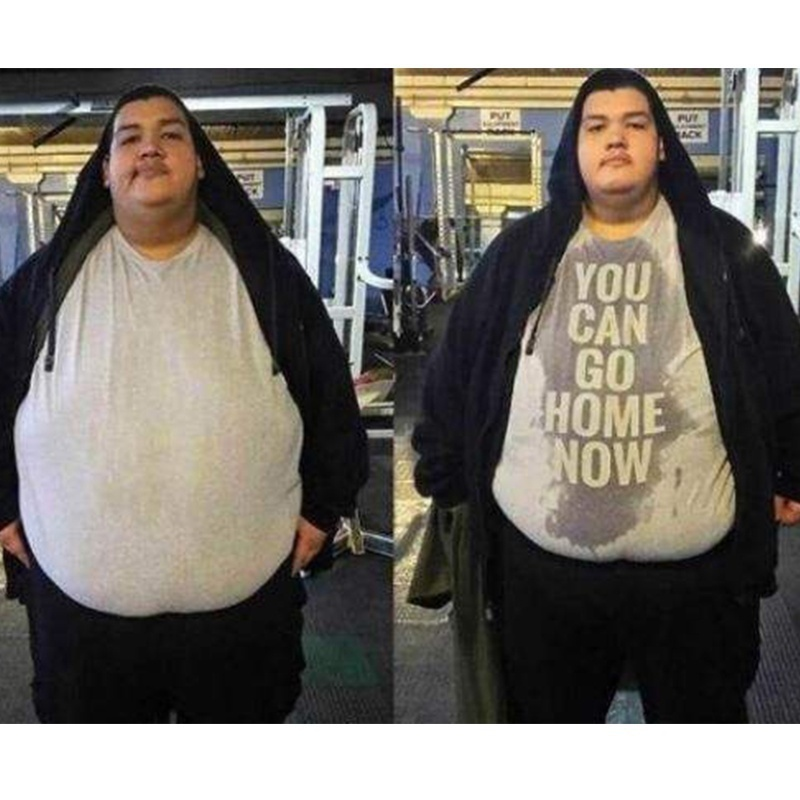 Gedruckt Männer T Shirt Baumwolle t-shirts Oansatz Kurz-Hülse Sie nach hause gehen können jetzt Gym shirt (1) frauen T-Shirt