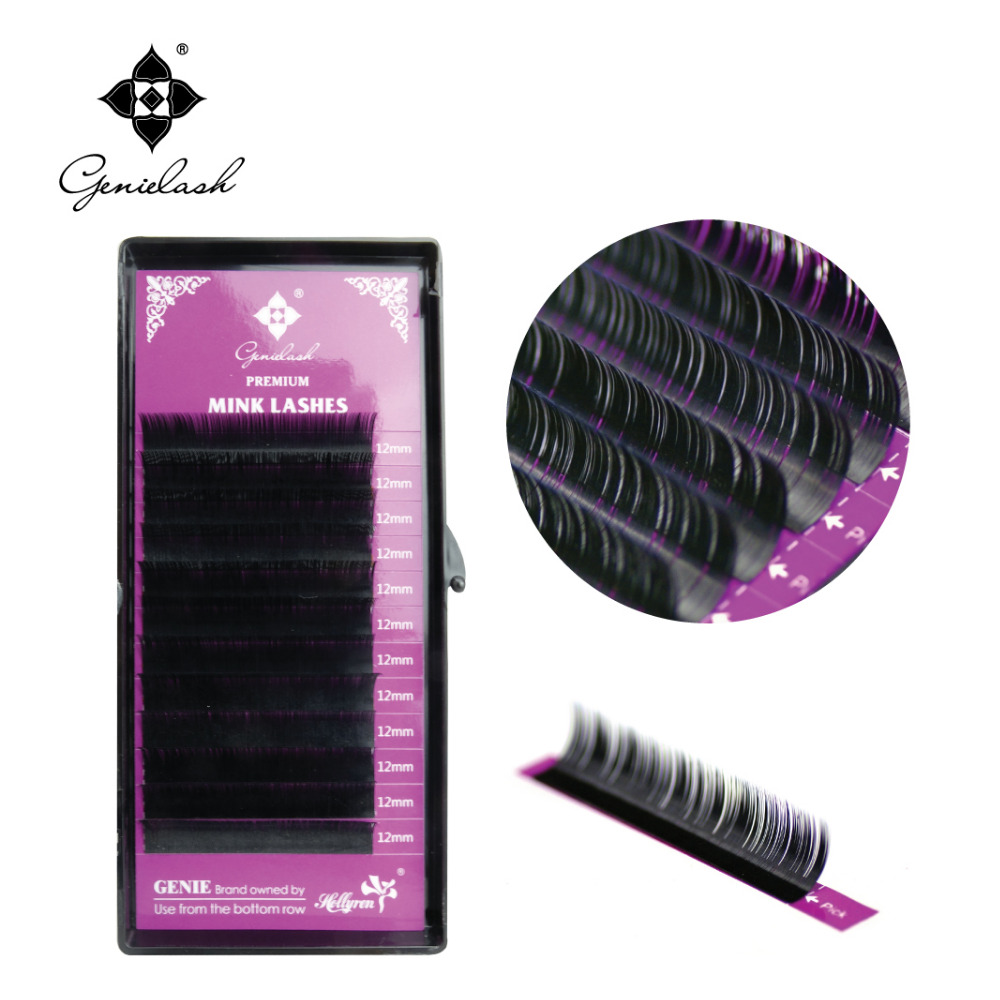 L curl 4 pcs/Lot All Thickness Faux Mink Material Individual False Eyelash Extension