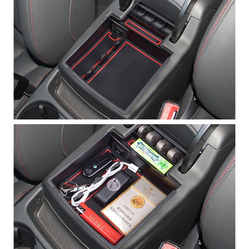 SMABEE Para AUDI Q5 Q3 2009to2017 Reposabrazos Caja de - Accesorios de interior de coche - foto 6