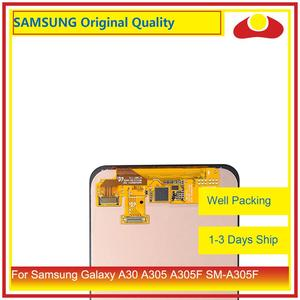 "Image 2 - Original 6.4"" For Samsung Galaxy A30 A305 A305F SM A305F LCD Display With Touch Screen Digitizer Panel Pantalla Complete"