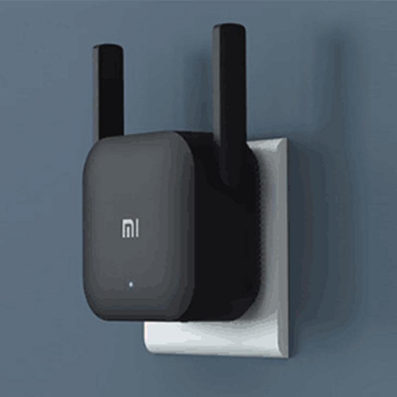 Original Xiaomi Pro 300M WiFi Router Amplifier Network Expander Repeater Power Extender Roteador 2 Antenna for Mi Router|Modem-Router Combos|   - title=