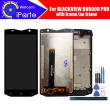 5.0 pouces BLACKVIEW BV8000 PRO écran LCD + numériseur décran tactile + assemblage de cadre 100% LCD dorigine + numériseur tactile pour BV8000 PRO