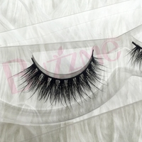 Free Shipping Luxe 100 Real Siberian Mink Strip Eyelashes Faux 3D Mink Lashes