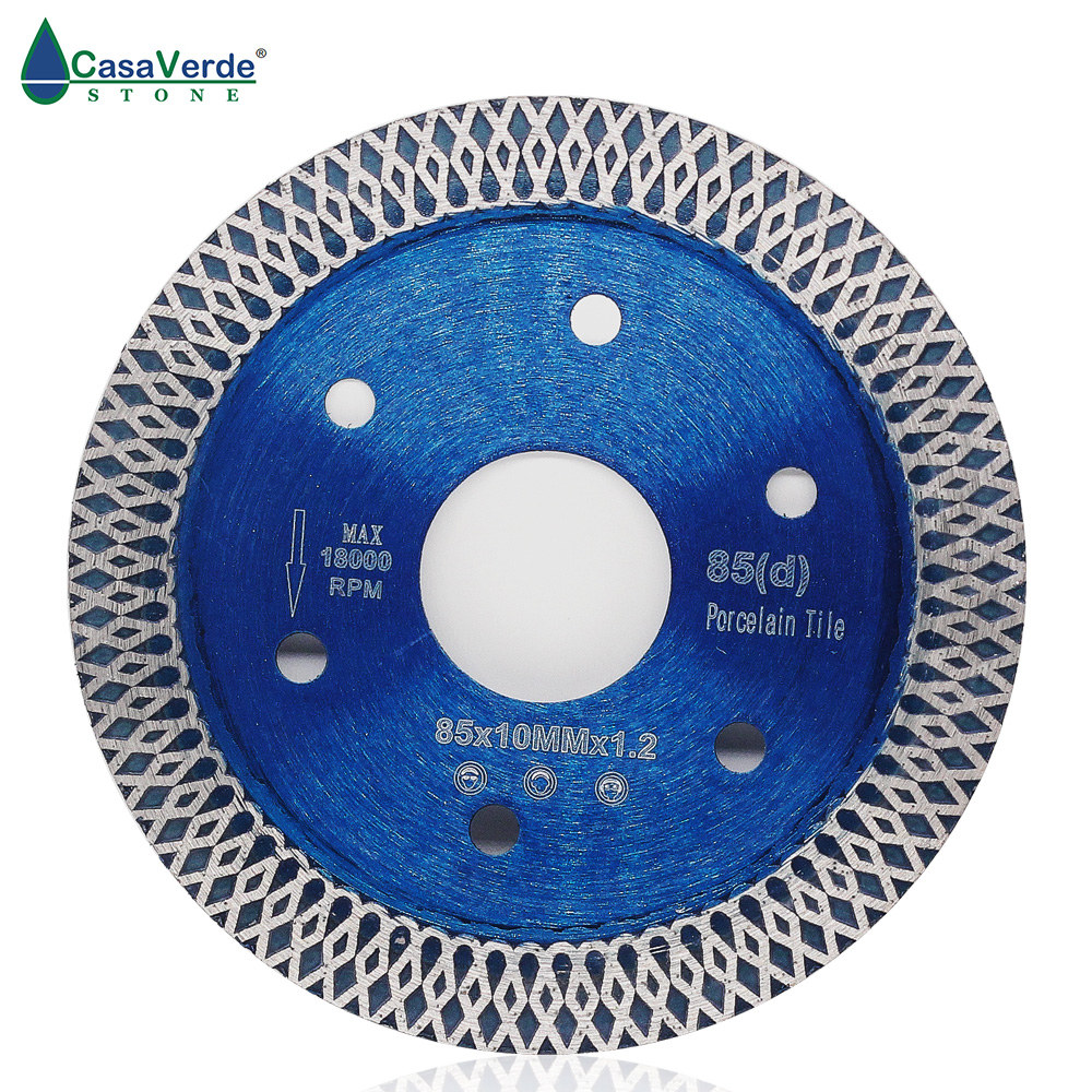 85/105/115/125mm Diamond Saw Blade For Porcelain Tile Ceramic Dry Cutting Aggressive Disc Marble Granite Stone Saw Blade