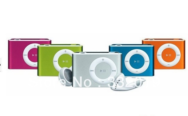 Hot Sale Free shipping MINI clip MP3 with Micro TF SD Card Slot 10 pcs/lot No Retail Box