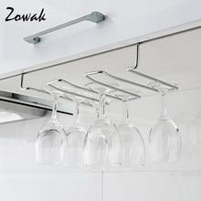 rack hook stemware glass rack wine glass hanger under cabinet storage goblet bar kitchen hanging holder cup shelf
