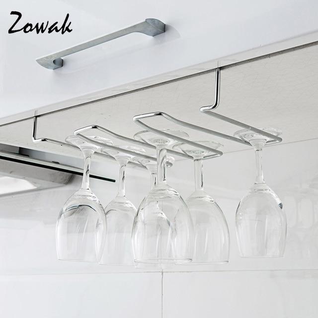 Rack Hook Stemware Glass Rack Wine Glass Hanger Under ...