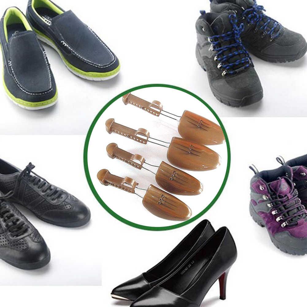 1 Nhựa Điều Chỉnh Giày Miếng Dán Khởi Động Hỗ Trợ Nam Đế Phẳng Bơm Giày Giày Giãn Nở Giày Cây Shaper Chất Lượng Cao