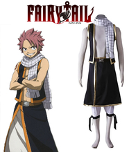 Free Shipping Fairy Tail Dragon Slayers Natsu Dragneel Seven Years Ago Anime Cosplay Costume