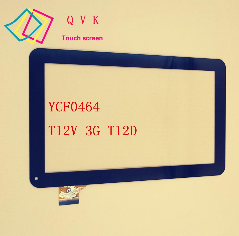 10.1inch YCF0464-A YCF0464 For Oysters T12 T12D T12V 3G Tablet pc external capacitive Touch screen capacitance panel