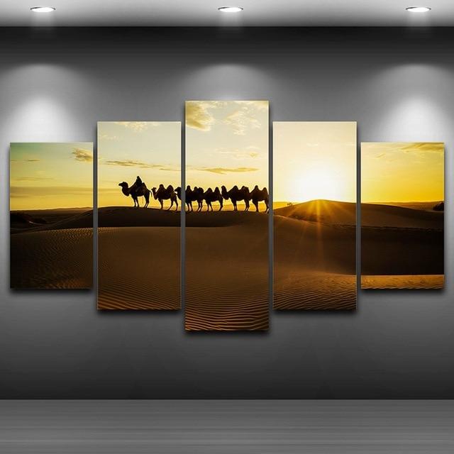 Semprot minyak lukisan dekorasi artistik gambar cetak pada kanvas framed wall art gambar hd dicetak dekorasi