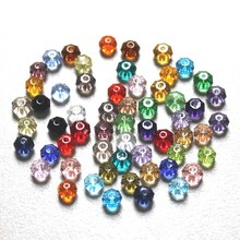 StreBelle AAA Wholesale 100pcs 4x6mm Newest Design Rondelle Spacer beads For Women Fashion Jewelry making