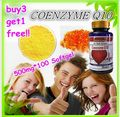 (Buy 3 Get 1 Free) CoQ10 100mg Coenzyme Q-10 Heart Antioxidant 100 Softgels Heart Antioxidant Anti Aging Cardiovascular MadeUSA
