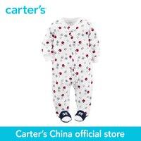 Carter S 1 Pcs Baby Children Kids Terry Zip Up Sleep Play 115G180 Sold By