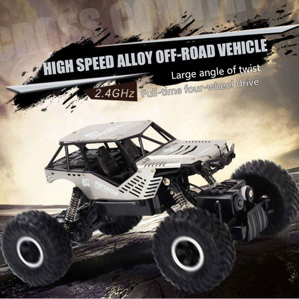 Image 3 - Super alloy Rc car off road vehicle 4wd high speed big foot climbing car crawler type climbing car remote control toy-in RC Cars from Toys & Hobbies