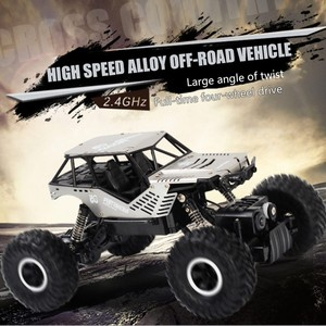 Image 3 - Super alloy Rc car off road vehicle 4wd high speed big foot climbing car crawler type climbing car remote control toy