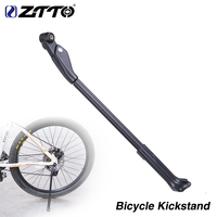 Carbon Adjustable Kickstand Side Stay For 26/27.5/29/700c Bicycle Rack Kick lightweight Stands MTB road Bike quick release