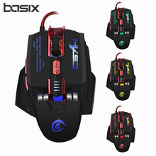 High-end Professional Wired Gaming Mouse 4000DPI Adjustable 7 Buttons Cable USB Optical Gamer Mouse Mice For PC Computer Laptop