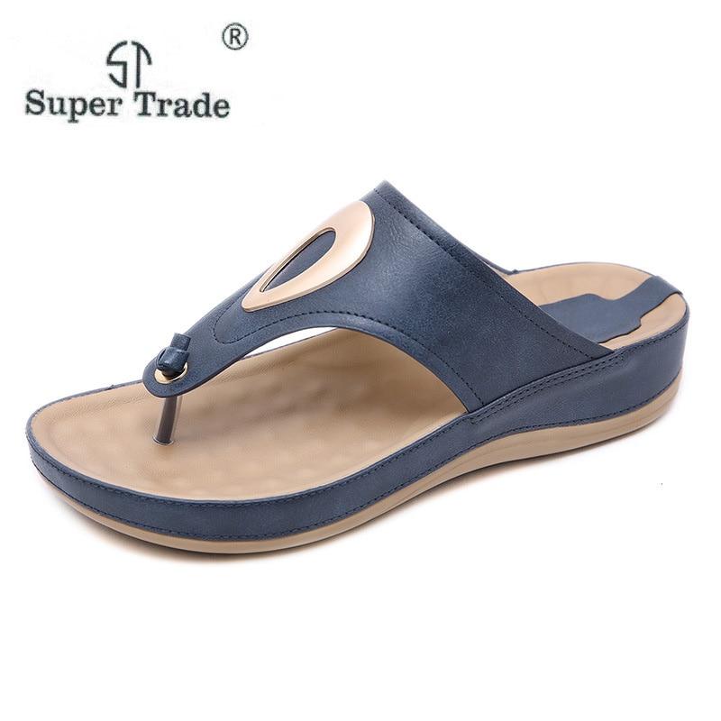5e40e659e St Bonne Non Sandales Apricot Chaussures 2019 slip Faible bleu ...