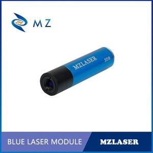 Image 1 - الأكثر مبيعًا 450nm 50mw الصناعية قابل للتعديل التركيز البنفسجي نقطة ليزر ديود وحدة