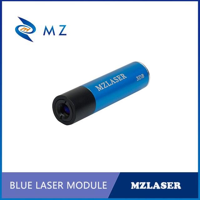 الأكثر مبيعًا 450nm 50mw الصناعية قابل للتعديل التركيز البنفسجي نقطة ليزر ديود وحدة