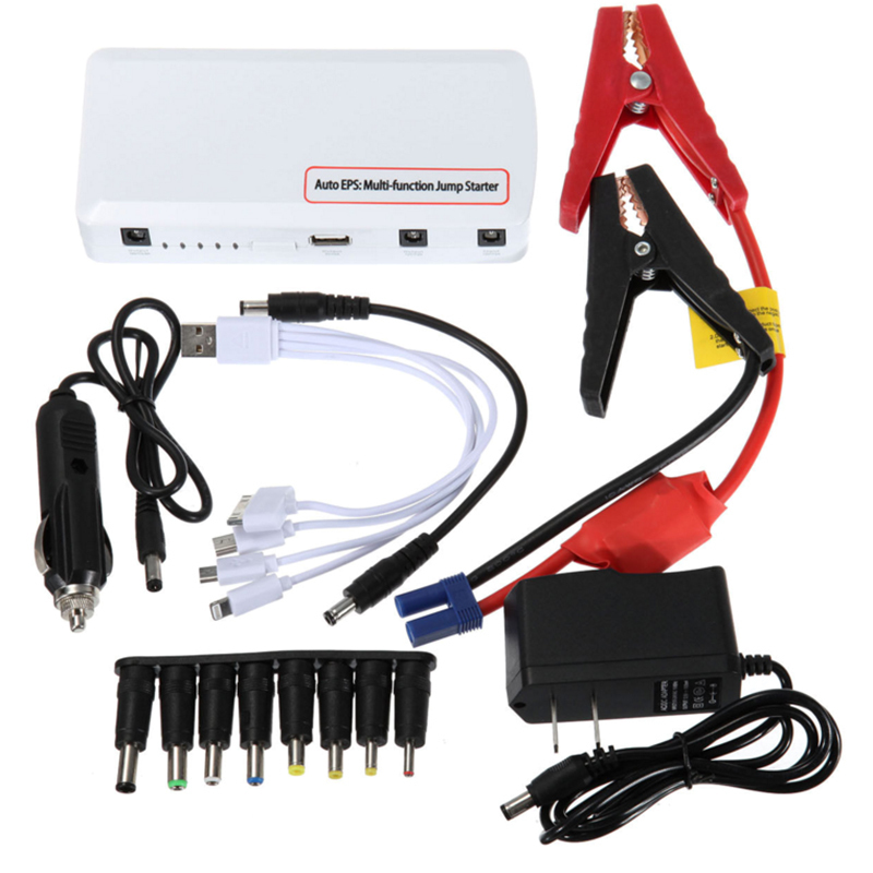 Chargeur de voiture Portable 30000 mah chargeur portatif batterie d'urgence Auto EPS batterie Booster véhicule voiture saut démarreur