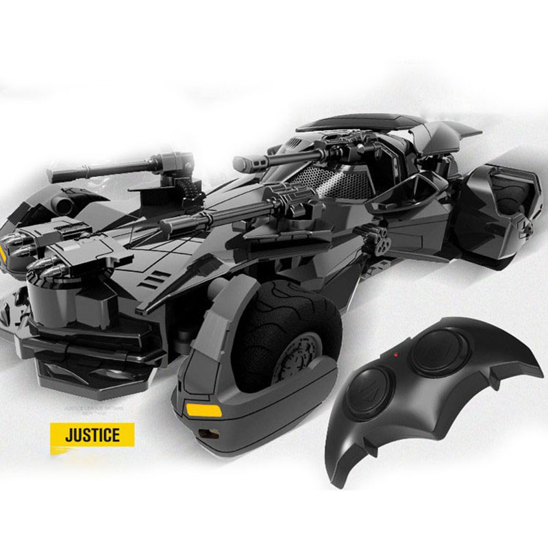 1:18 Batman RC car Justice League remote control electric toy model Batmobile RC Sports Vehicle car