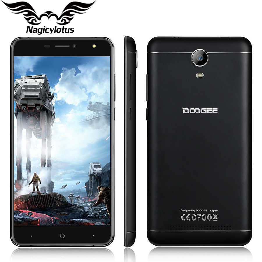 Original DOOGEE X7 Pro 6.0″ MTK6737 Quad Core VR Smartphone Android 6.0 2GB+16GB 1280*720px 8.0MP 3700mAh OTG 4G LTE Cell Phone