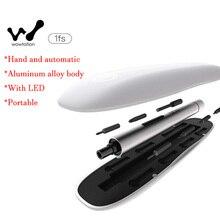24 Heures Le Bateau D'origine Xiaomi Wowstick 1FS Mini Tournevis Électrique Corps En Aluminium Avec LED DIY Outil Kit pour Téléphone Appareil Photo réparation