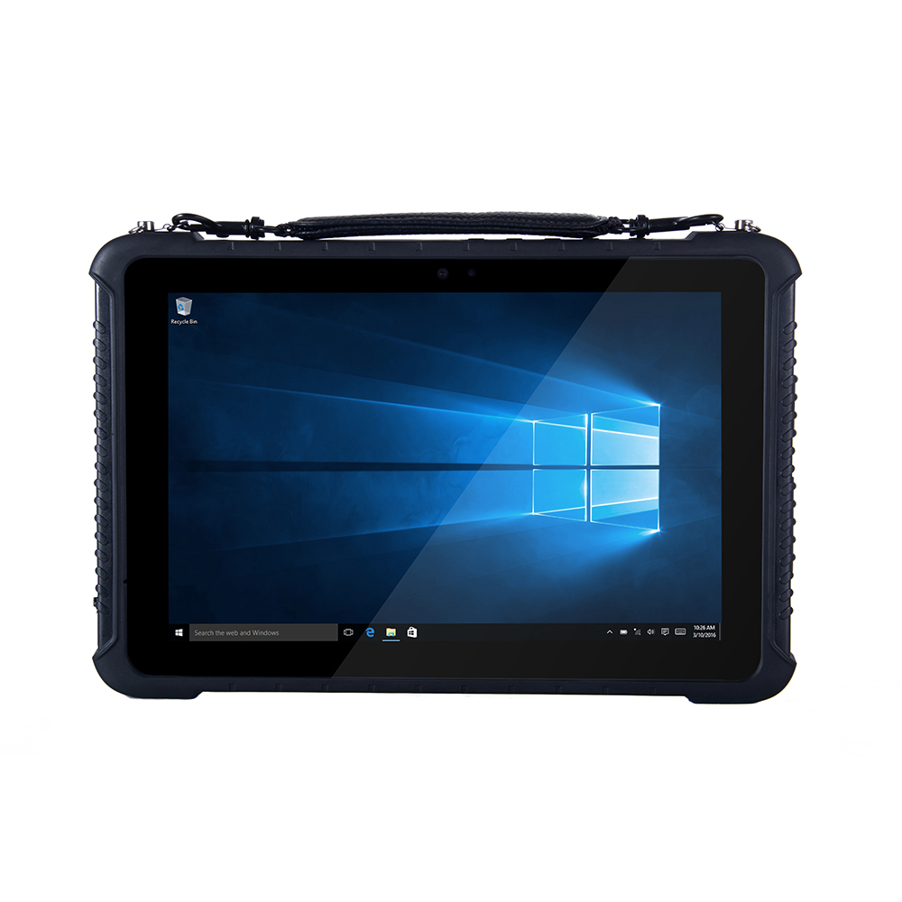 HDMI RJ45 Interface Rugged 10 1 Windows 10 Pro Home Version Tablet With Barcode Scanner NFC